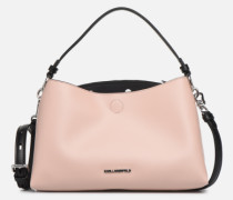 KARL DOTS SMALL HOBO Handtasche in rosa