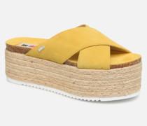 51092 Clogs & Pantoletten in gelb