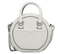 Bree Circle Crossbody Handtasche in weiß