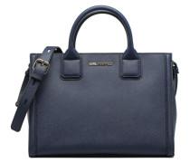K Klassic Tote Handtasche in blau