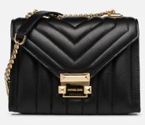 Whitney SM Shoulder Handtasche in schwarz