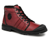 Authentique C Stiefeletten & Boots in rot