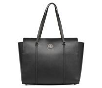 MODERN TOMMY TOTE Handtasche in schwarz