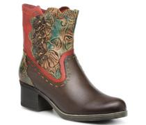 CINDY 02 Stiefeletten & Boots in braun