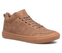 Tudor Mid Sneaker in braun