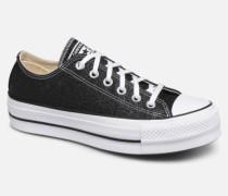 Chuck Taylor All Star Lift Galaxy Dust Ox Sneaker in schwarz