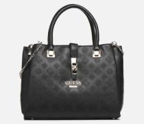 PEONY CLASSIC GIRLFIEND CARRYALL Handtasche in schwarz