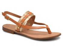 ABELLE LEATHER SANDAL Sandalen in braun