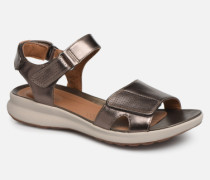 UN ADORN CALM Sandalen in goldinbronze