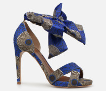 UrbAfrican Sandales à Talons #9 Sandalen in blau