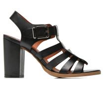 Menthe Hello #16 Sandalen in schwarz