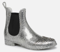 Jane Stiefeletten & Boots in silber