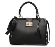 STELLA LUXURY SATCHEL Handtasche in schwarz