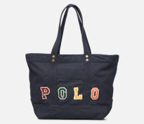 PP TOTE POLO Handtasche in blau