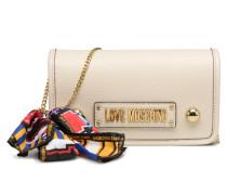 LETTERING LM Crossbody Handtasche in weiß