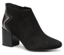 ELEVATED SUEDE HEELED BOOTIE Stiefeletten & Boots in schwarz