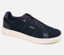 Jack & Jones JfwOlly Nubuck Sneaker in blau