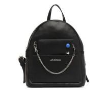 Sac à dos avec Pochette amovible JC4301PP05 Rucksäcke für Taschen in schwarz