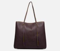 LENNOX TOTE LARGE Handtasche in weinrot