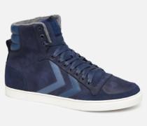 Slimmer Stadil Duo Oiled High Sneaker in blau
