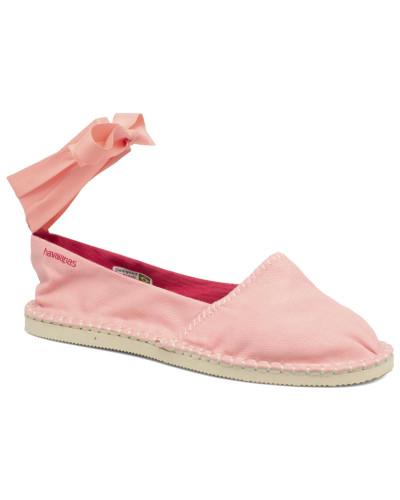 Origine Slim Espadrilles in rosa