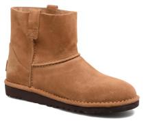 Classic Unlined Mini Stiefeletten & Boots in braun