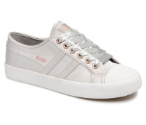 COASTER SATIN Sneaker in silber