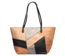 ARES CAPRI ZIPPER Handtasche in goldinbronze