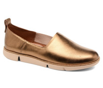 Tri Curve Sneaker in goldinbronze
