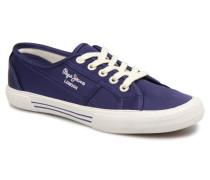 Aberlady Satin Sneaker in blau