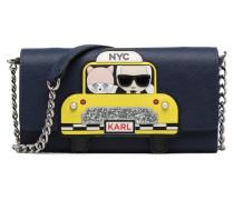 Chain Wallet NYC Portemonnaies & Clutches für Taschen in blau