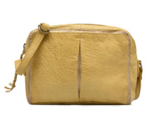 Ingelise Leather Crossbody Handtasche in gelb