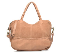 Cameo Leather bag Handtasche in beige