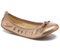 Lilou II Ballerinas in goldinbronze