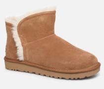 Classic Mini Fluff HighLow Stiefeletten & Boots in braun