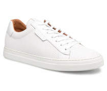 Spark Clay Nappa M.Punch Sneaker in weiß