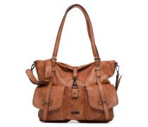 Bernadette Shopping Bag Handtasche in braun