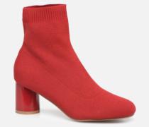 ONLBIMBA HEELED SOCK BOOTIE 15184252 Stiefeletten & Boots in rot