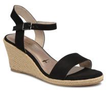 Nepeta Sandalen in schwarz