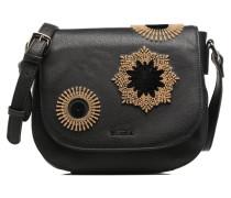 Varsovia Rubi Crossbody Handtasche in schwarz