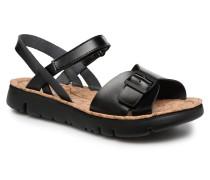 Oruga 4 Sandalen in schwarz