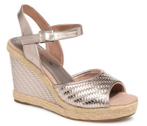 28034 Espadrilles in silber