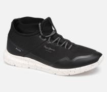 Wade Knitsock Sneaker in schwarz