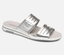 Martina Clogs & Pantoletten in silber