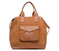 TOTE CUIR Handtasche in braun