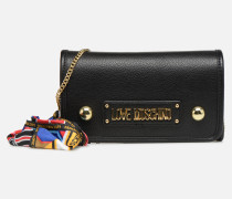 LETTERING LM Crossbody Handtasche in schwarz