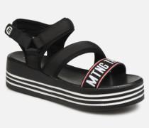57562 Sandalen in schwarz