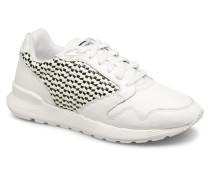 Omega X W Woven Sneaker in weiß