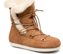 Far Side HIigh Shearling Sportschuhe in braun