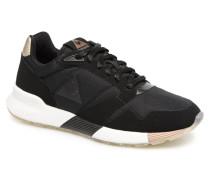 Omega X W Metallic Sneaker in schwarz